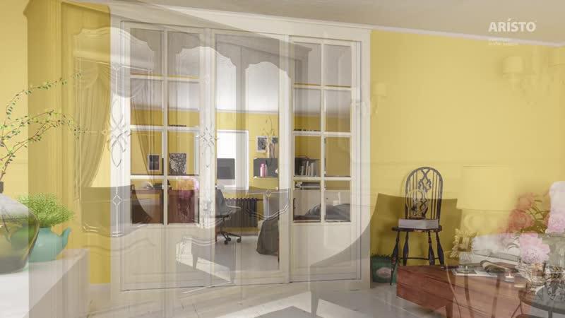 О производстве классических дверей Aristo для шкафов-купе