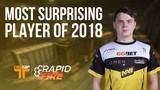 Electronic cromen CSGO Pros Pick the Most Surprising Player of 2018 DBLTAP Rapid Fire