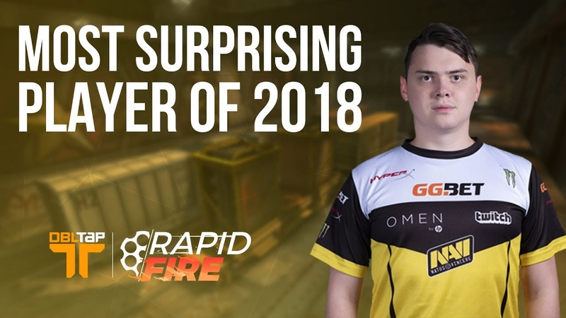 Electronic? cromen? CS:GO Pros Pick the Most Surprising Player of 2018 | DBLTAP Rapid Fire