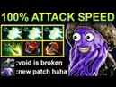 100 % ATTACK SPEED FACELESS VOID - PATCH 7.17 DOTA 2 NEW META GAMEPLAY 133