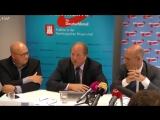 Emotionale Pressekonferenz- AfD Hamburg zu Verfassungsschutz und -Merkel muss weg--Demo