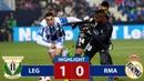 Leganes vs Real Madrid 1 0 Highlights Resumen y Goles 16 01 2019