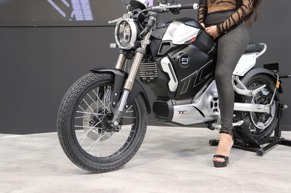 EICMA 2018: электроцикл Super SOCO TC MAX 2019