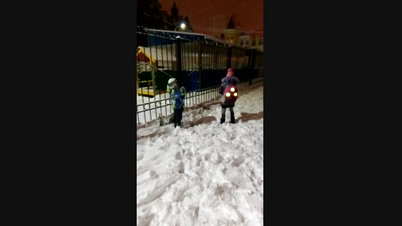 17.10.2018 выпал первый снег да и сколько😀😀😀