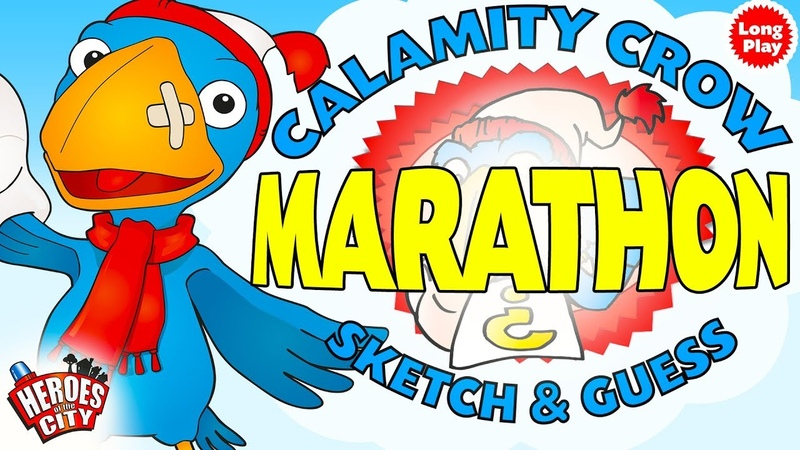 Heroes of the City - Calamity Crow Sketch Guess Marathon - Long PLay - Bundle | Art For Kids