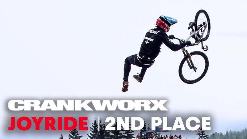 MTB Slopestyle 2nd Place Run In Whistler, Canada. | Crankworx 2018