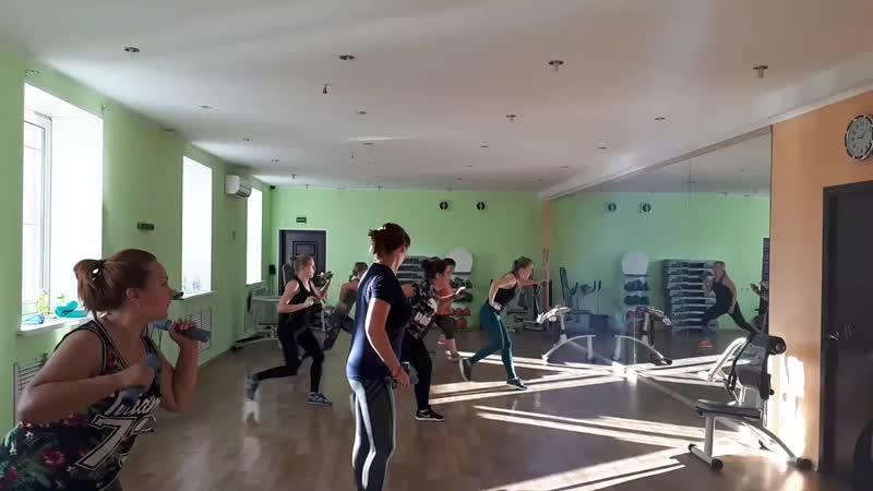 Cardio toning. Тренер Ксения Уракова
