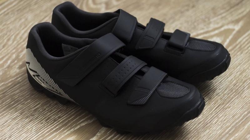 Вело-ботинки Shimano для MTB-соревнований.