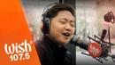 Jake Zyrus performs Bagyo LIVE on Wish 107.5 Bus
