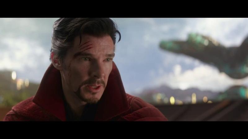 Мстители Война бесконечности Диалог Доктора Стрэнджа и Таноса
