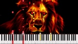 He Lives in You - The Lion King II Simbas Pride Piano Tutorial (Synthesia) Wouter van Wijhe