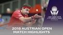 Timo Boll vs Zheng Peifeng I 2018 ITTF Austrian Open Highlights (R16)