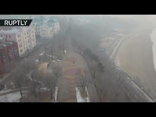 Хабаровск заволокло дымом