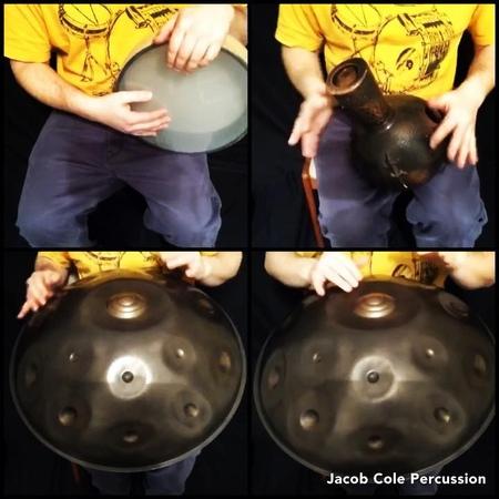 "Jacob Cole on Instagram: ""Finally made a new @acapellaapp acapellaapp percussion grid collabs welcome! yishamapantam yishama pantam handpa..."