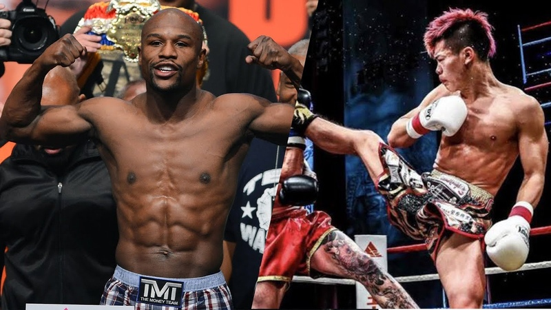 Mayweather vs. Tenshin - BOXING-MMA HYBRID FIGHT!