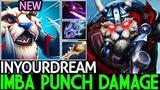 Inyourdream Tusk Imba Punch Damage One Hit Kill 7.20 Dota 2