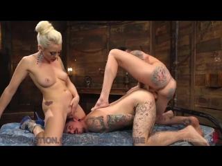 Wild Threesome For Wannabe Playboy (Красотки Shemale   Трансы TS Ladyboy Трапы Sissy Trap Crossdresser Tranny Porno Sex)