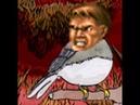 Annoyed Bird but it's Doom