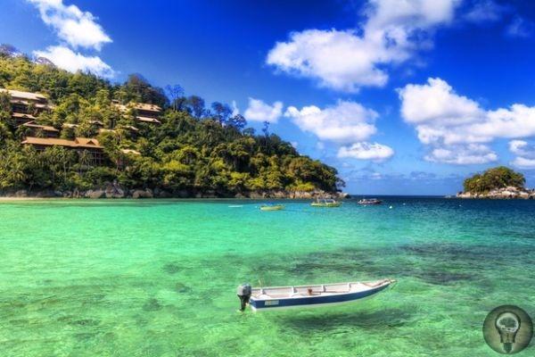 Самые красивые острова Малайзии