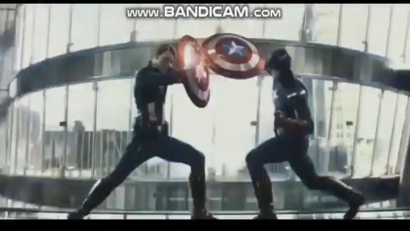 Captain America vs Captain America Avengers Endgame Part 1