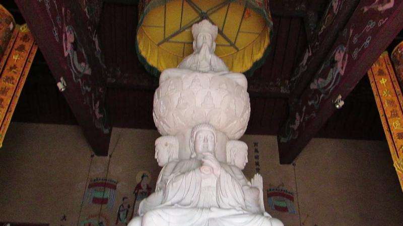 Храм будды в Суйфеньхе