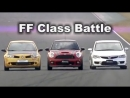 Best Motoring Civic Type R FD2, Megane R26R, Works Mini Cooper BMIRussian
