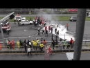 Horrible crash Brno Crash FIA GT Brno Lamborghini Gallardo Super Trofeo LP 560-