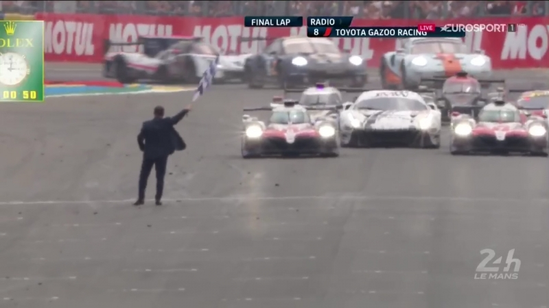 Toyota finish
