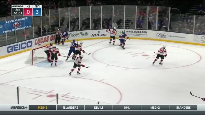 NHL Highlights _ Devils vs. Islanders - Jan. 17, 2019