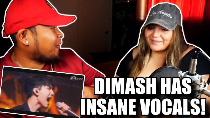 Dimash Kudaibergenov Scereaming Idol Hits REVIEW AND REACTION 2018