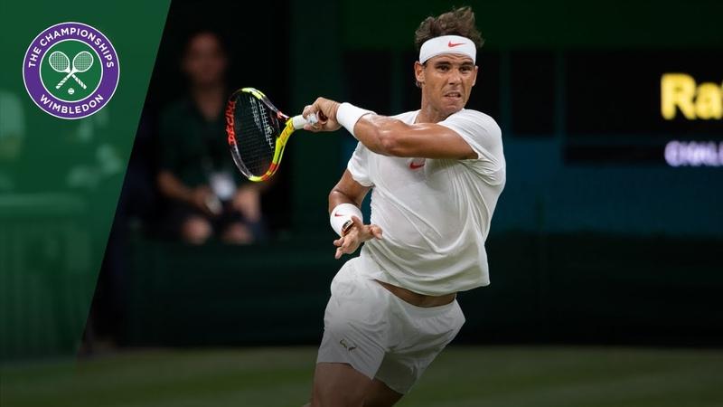 Rafa Nadal Novak Djokovic's crazy 23-shot tie-break rally | Wimbledon 2018