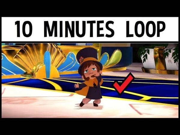 Hat Kid Seal Crow 10 Min Loop