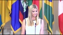 Ivanka Trump Remarks On Financial Empowerment Of Women 8/27/18