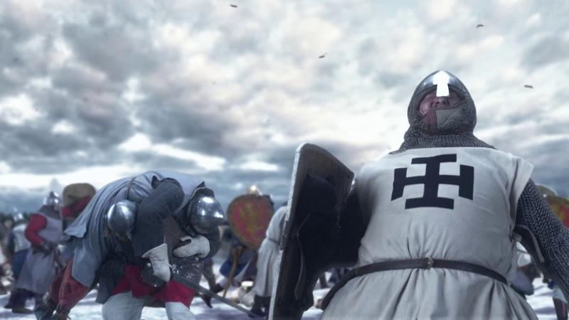 18 апреля 1242 года. Ледовое побоище.