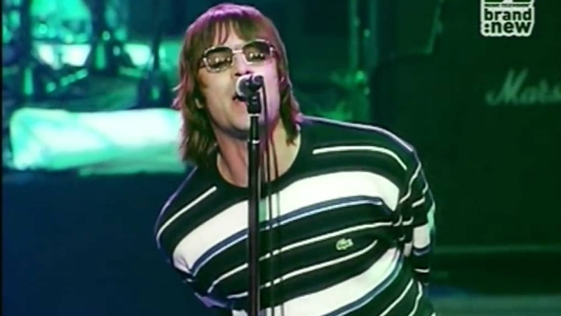 Oasis: 'Go Let It Out'- Live Brussels 2000