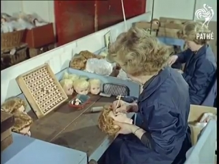 The Doll Factory's Assembly Line (1963)