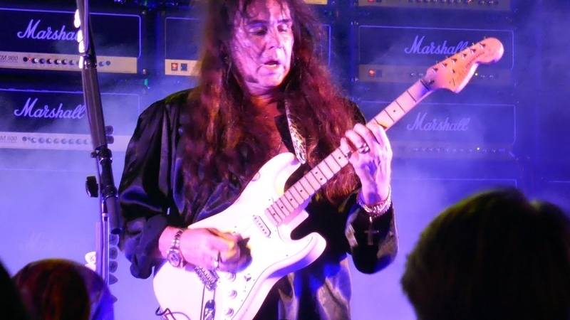 YNGWIE J. MALMSTEEN Now Your Ships Are Burned Evil Eye Live (4K) @ Proof Rooftop Lounge Hou