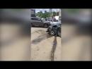 В Уфе Сипайлово автобус столкнулся с легковушкой есть пострадавшие