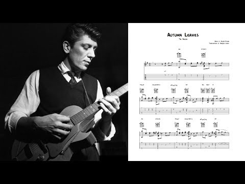 Autumn Leaves - Tal Farlow (Transcription)
