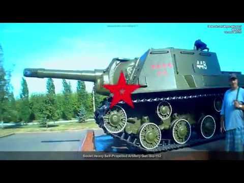 Советская тяжелая самоходная артиллерийская установка ИСУ-152 » Freewka.com - Смотреть онлайн в хорощем качестве