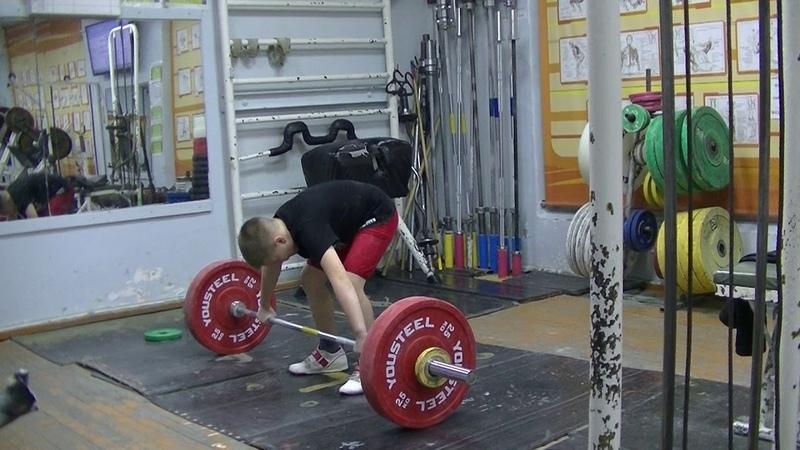Бармин Иван, 10 лет, собст вес 37 85 Рывок 23 кг Есть личный рекорд!