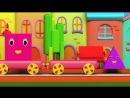 Bob The Train - Adventure with Shapes - Shapes for Children - Shape Song - Kids tv Songs