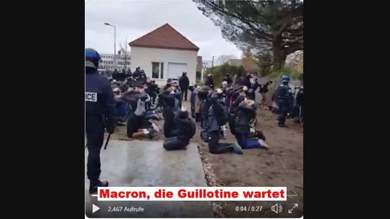 Die Lügenpresse feierte Marcon als Hoffnungsträger die Zukunft Europa die neue Generation sollte er wieder nach vorne bringen