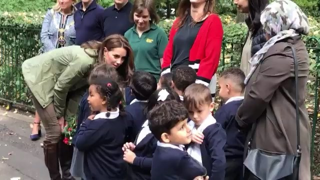 "The Cambridges on Instagram: ""She's Back I'm waiting for the High Quality pictures to come out but I jut had to post this adorable video of Kate..."