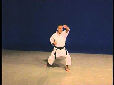 Pinan Shodan _ Kata Bunkai _Shito Ryu karate do _ Hidetoshi Nakahashi