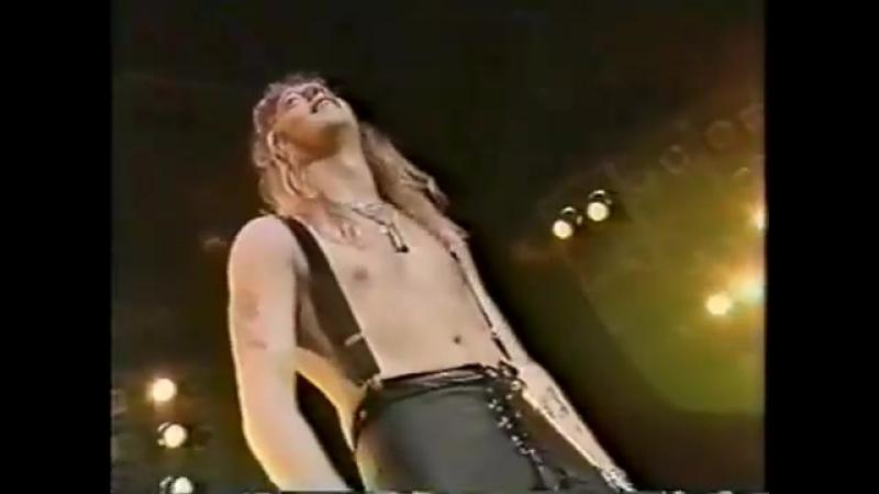WARRANT - LIVE IN TOKYO. 1991