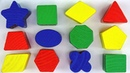 LEARN SHAPES NAMES w/ Fun Wooden Toy Set – Educational Kids Toddlers ESL