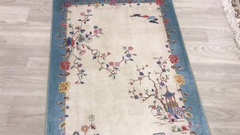 Chinese Art Deco silk rug Oriental traditional rug Persian handmade silk carpet modern wool carpet