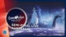 Australia LIVE Kate Miller Heidke Zero Gravity First Semi Final Eurovision 2019