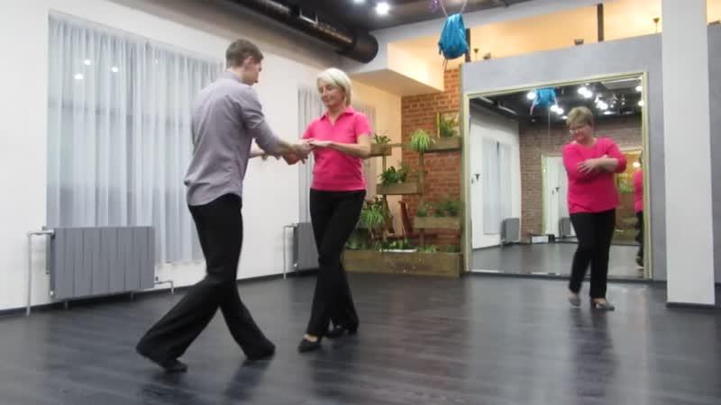 Румба. Танцевальные занятия в студии Динамика.